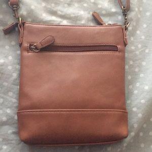 Stone & Co. Bags - Stone & Co brown crossbody purse